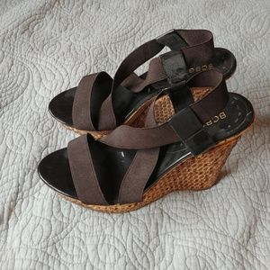 BCBG Wedge Sandal